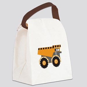 Dump Truck Canvas Lunch Bag