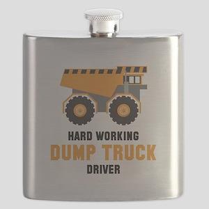Dump Truck Driver Flask
