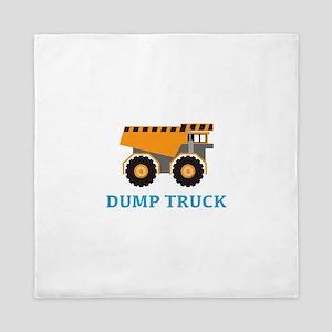 Dump Truck Queen Duvet