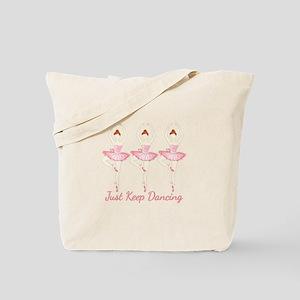 Keep Dancing Tote Bag