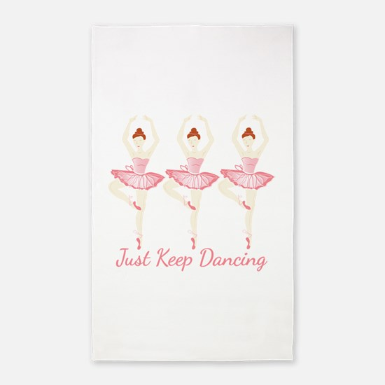 Keep Dancing Area Rug