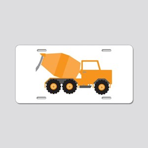 Cement Truck Aluminum License Plate