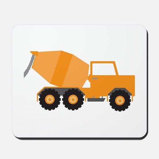 Cement Truck Mousepad