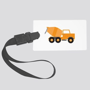 Cement Truck Luggage Tag
