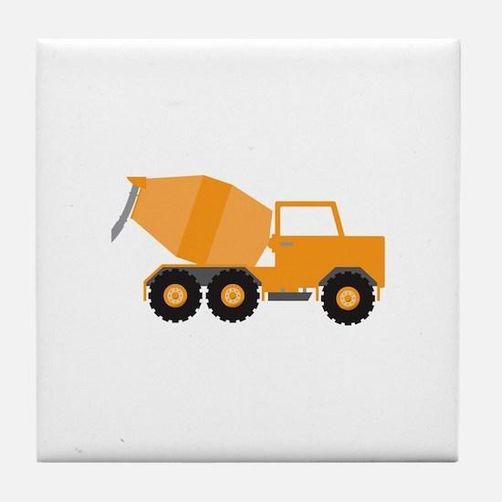 Cement Truck Tile Coaster