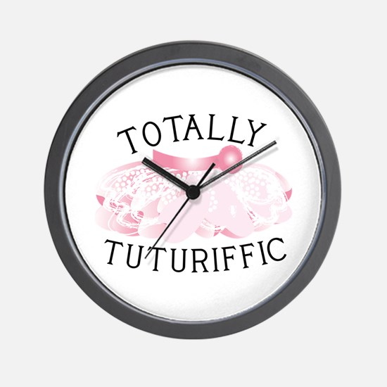 Totally Tuturiffic Wall Clock