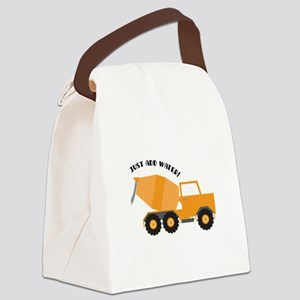 Just Add Water Canvas Lunch Bag