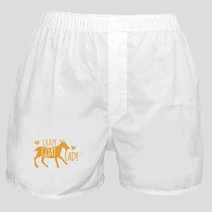 Crazy Goat Lady Boxer Shorts