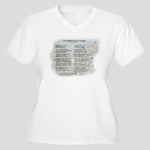 Sanballat and Tob Women's Plus Size V-Neck T-Shirt