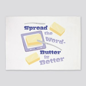 Butter Is Better 5'x7'Area Rug