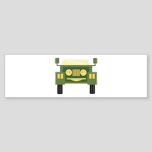 Happy Car Bumper Sticker