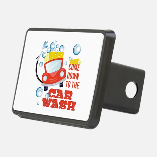 The Car Wash Hitch Cover