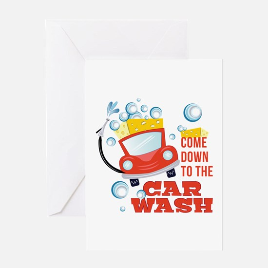 The Car Wash Greeting Cards