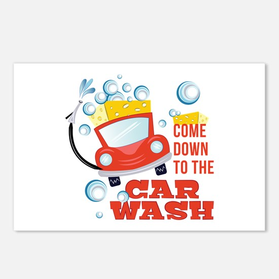 The Car Wash Postcards (Package of 8)