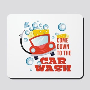 The Car Wash Mousepad