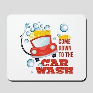 The Car Wash Mousepad