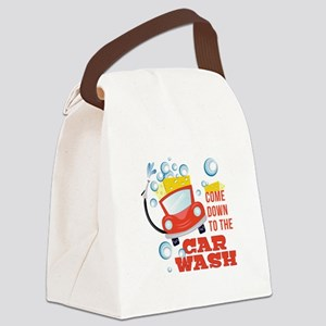 The Car Wash Canvas Lunch Bag