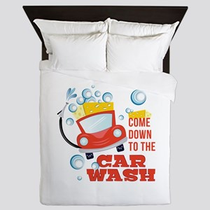 The Car Wash Queen Duvet