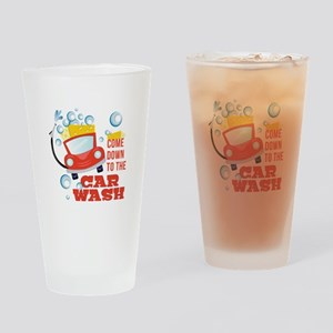 The Car Wash Drinking Glass