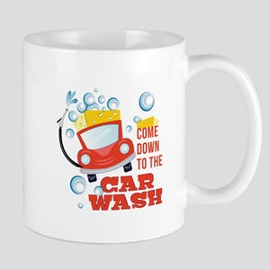 The Car Wash Mugs