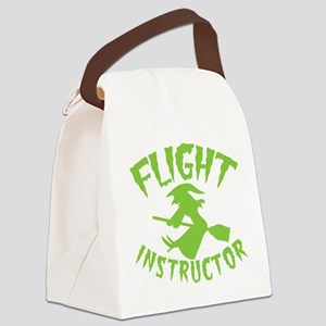 Flight instructor wickedy witch o Canvas Lunch Bag