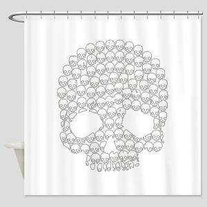 Skull of Skulls Shower Curtain