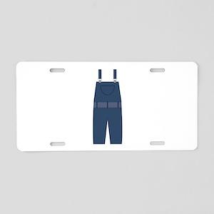 Overalls Aluminum License Plate