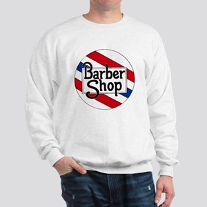 Round Barbershop Logo Sweatshirt
