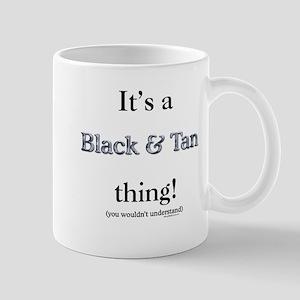 Black & Tan Thing Mug