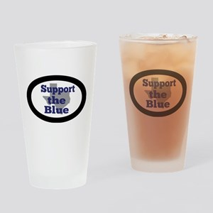 Support the Blue Drinking Glass