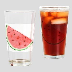 Watercolour Watermelon Drinking Glass