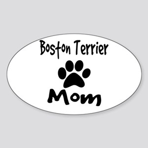 Boston Terrier Mom Sticker