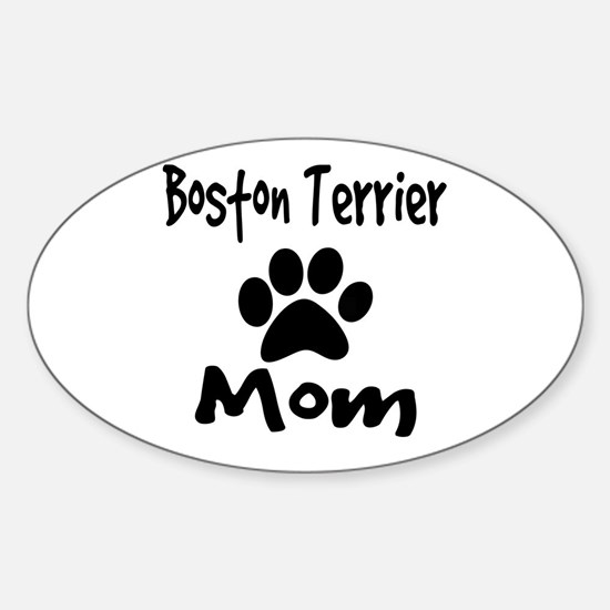 Boston Terrier Mom Decal