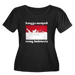 Indonesian Pride Women's + Size Dark Tee