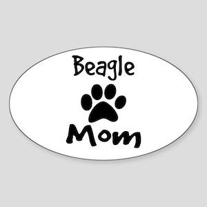 Beagle Mom Sticker