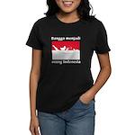 Indonesian Pride Women's Dark T-Shirt