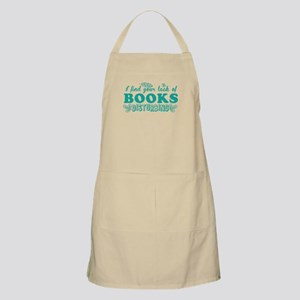 I find your lack of BOOKS disturbing Apron