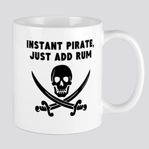 Instant Pirate Just Add Rum Mugs