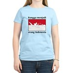 Indonesian Pride Women's Light T-Shirt