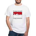 Indonesian Pride White T-Shirt