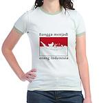 Indonesian Pride Jr. Ringer T-Shirt