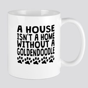 Without A Goldendoodle Mugs