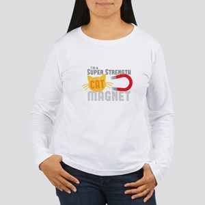 I'm a SUPER strength CAT MAGNE Long Sleeve T-Shirt