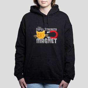 I'm a SUPER strength CAT Women's Hooded Sweatshirt