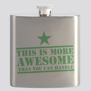 THIS is more AWESOME than you can HANDLE Flask