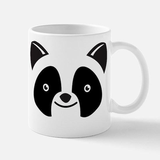Super Kawaii panda Face smiling Mugs