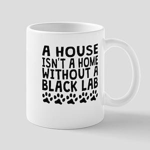 Without A Black Lab Mugs