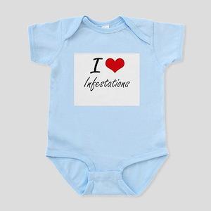 I Love Infestations Body Suit