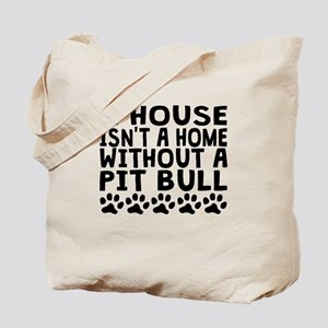 Without A Pit Bull Tote Bag
