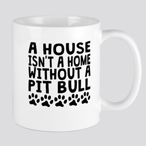 Without A Pit Bull Mugs